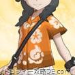 アローラシャツ・女(ビビッドオレンジ)