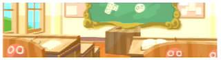 背景(昼の教室)